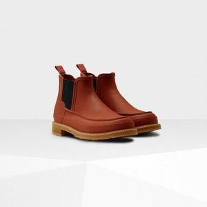 HUNTER Boots Lightweight Moc Toe Chelsea Boot